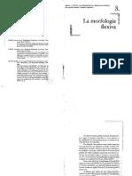 Aguirre Morfologia Flexiva Manual de morfología del español
