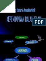 02 - Prinsip Dasar & Karakteristik Kepemimpinan Islam2