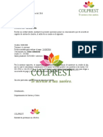Carta Colprest Corregida