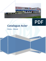 Catalogue Acier