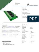 USB Relay Control | Relay Controller FC 1204 U | intelligent-appliance.com