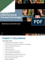 Poglavlje Firewall Technology Bezbednost racunarskih mreza