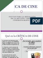 Criticas de Cine 8vo.