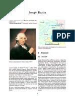 14-Franz Joseph Haydn-Ingles Bio
