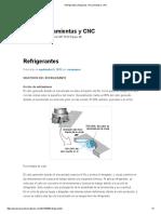 Refrigerantes _ Maquinas, Herramientas y CNC