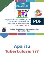 Penyuluhan TBC Untuk PPSU