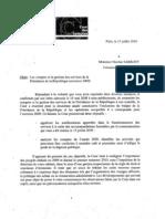 Rapport Gestion 2009 Presidence de La Republique 0710
