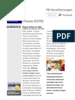 Presse Echo 28 Kleines Polster Im Alter
