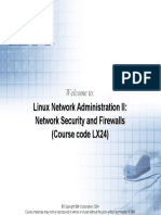 Linux Administrator - Linux Network Administration II