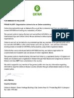 Oxfam ScamAlert Release Final