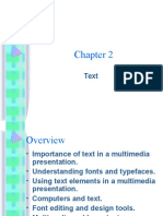 Multimedia Making it work Chapter2 - Text