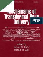 Potts R. O. (Ed.), Guy R. a. (Ed.) - Mechanisms of Transdermal Drug Delivery (1997)(357s)