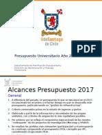 Presentación Final Presupuesto Universitario 2017 15 Marzo 2017