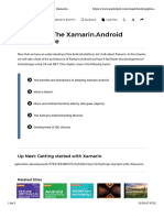 Chapter 2. the Xamarin.android Architecture