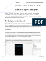 Chapter 3. Creating the Points of Interest App - J - The Xamarin Studio Layout Designer