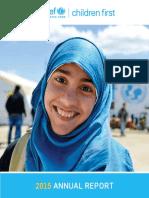 Annual Report 2015 penyakit campak