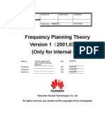 Frequency Planning Theory 20010323 B 1.0