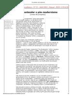 Para entender o pós-modernismo.pdf