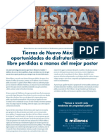 Report--New Mexico Lands and Outdoor Opportunities Lost (Spanish)