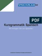 Sprachurlaub.de Grammatik Spanisch