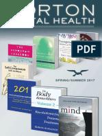 Norton Mental Health - Spring/Summer 2017 Catalog