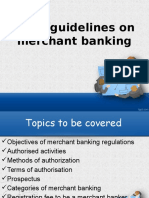 sebi guideline on merchant banking ppt