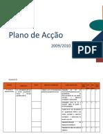 Plano de Acção 2009.10_2012.13