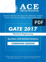 EE GATE 2017 Forenoon-Sesstion-1