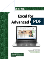 2013 Excel Advanced Manual