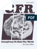 CFR Conspiracy to Rule the World by Gary Allen - American Opinion
