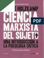 Holzkamp Ciencia Marxista del sujeto I.pdf