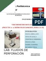 Laboratorio de Fluido Viscosimetro