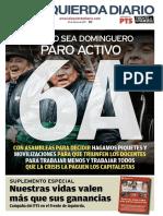 Edición impresa de La Izquierda Diario