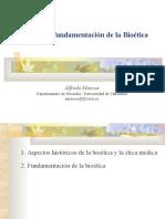 Historia y Fundamentacion Bioetica