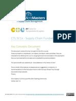KeyConcept_SC1x_V2 - Supply Chain Fundamentals