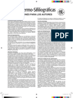 Normas publicación Actas Dermosifiliográficas