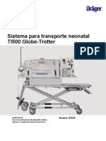 Instructions for Use Globe Trotter Transport System_ES