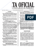 Gaceta 41077 Exoneracion ISLR