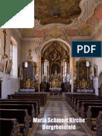 Kirchenführer Maria Schmerz Kirche Bergrheinfeld