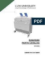 Manual de Partes Aficio MPW2400_3600