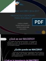 1. Generalidades Del Macero Para Clubes Rotaract