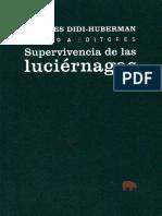 DIDI-HUBERMAN - Supervivencia-de-Las-Luciernagas.pdf