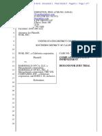 Nuki v. Marshalls - Complaint
