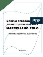 Modelo Pedagógico de La i.e Marceliano Polo