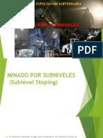 Metodo de Expoltacion Subterranea