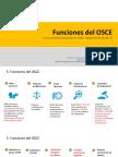 Funciones de La OSCE