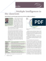 ROBERTS Observing Multiple Intelligences in the Classroom - From IATEFL Voices 232