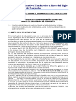 Honduras sistema Educativo Durante El Siglo Xx