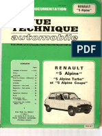 [Revue technique automobile][Fr] - Renault 5 ALPINE & ALPINE turbo.pdf