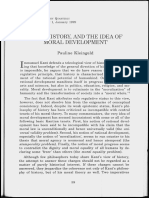 Kant, History, and the idea of moral development